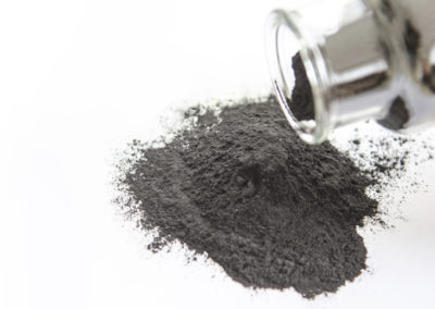 Which factors are most relevant when it comes to the quality of a humic acid product as animal feed?